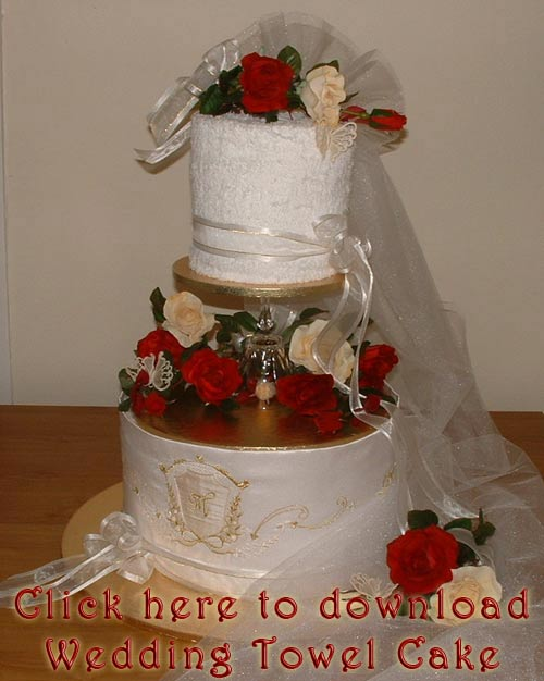 Download Wedding Towel Cake - Size: 362kb PDF Format