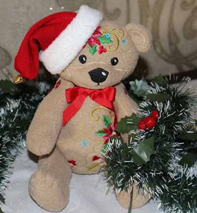 Soft Toys Christmas Teddy